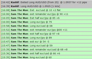 Aug 01, 2011 - Live online forex trading room session, currency training course, fibonacci grid