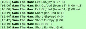 Oct 4, 2011 Live online forex scalping training chat room performance results
