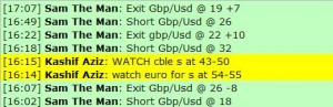 Jan 6, 2012 Live online forex scalping training trading chat room performance results