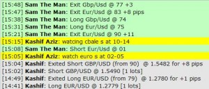 Jan 10, 2012 Live online forex scalping training trading chat room performance results