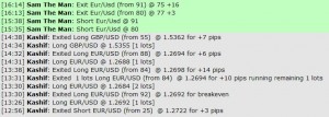 Jan 11, 2012 Live online forex scalping training trading chat room performance results