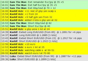 Jan 19, 2012 Live online forex scalping training trading chat room performance results