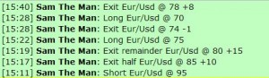Feb 1, 2012 Live online forex scalping training trading chat room performance results