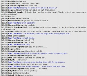 Feb 2, 2012 - Chat room transcript from live forex scalping room session