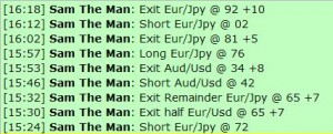 Feb 27, 2012 Live online forex scalping training trading chat room performance results