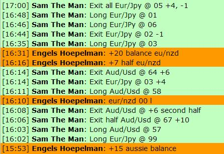 Aug 2 2012 Live forex scalping chat room session forex